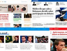 Globo e Record ignoram notícia que denuncia o escândalo #caixa2doBolsonaro