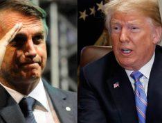 Trump não virá à posse de Bolsonaro