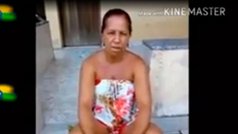"""Em vídeo, Wal do Açaí, ex """"funcionária fantasma"""" de Bolsonaro ..."""