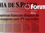 Fórum Onze e Meia   Caixa 2 de Bolsonaro é o maior escândalo desta eleição e pode mudar seu resultado