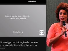 Juiz proíbe TV Globo de divulgar investigação do assassinato de Marielle Franco