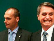 """Eduardo Bolsonaro sobre Queiroz: """"Você sabe o que o seu estagiário está fazendo?"""""""