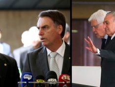 """Questionamentos a Bolsonaro e filho são """"inconvenientes"""", diz ministro de Michel Temer"""