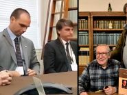 Lobista de Bolsonaro nos EUA promove encontro entre Olavo de Carvalho e Steve Bannon
