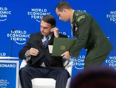 """Em discurso em Davos, Bolsonaro fala apenas duas vezes a palavra corrupção: """"Queremos governar pelo exemplo"""""""