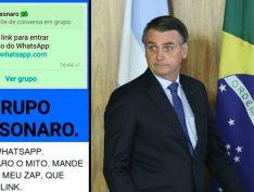 Agência confirma que empresas pagaram por disparos de fake news pró-Bolsonaro no Whatsapp