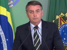 Bolsonaro e filho recebem visita de executivos da CNN Brasil