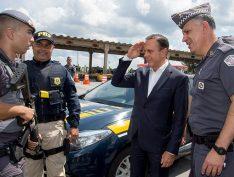 """VÍDEO: Dória diz que agora em SP """"bandido não vai para a delegacia, nem para a prisão, vai para o cemitério"""""""