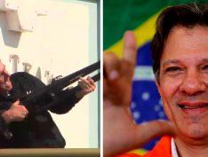 """Haddad sobre decreto de posse de armas: """"Legalização das milícias é o próximo passo"""""""