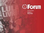 Fórum Onze e Meia   Pesquisa mostra que PT está perdendo a batalha do Lula Livre