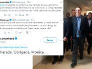 """Monica Waldvogel explica """"quimioterapia de Bolsonaro"""" e Catanhêde responde: """"Mitou a charada"""""""
