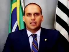 Eduardo Bolsonaro faz campanha para regulamentar rodeio e vaquejada