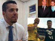 """Deputado do PSL coloca placa quebrada de Marielle no gabinete; viúva diz que dará """"outra parte"""""""