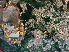 Imagens de satélite indicam rachadura em barragem da CSN em Congonhas