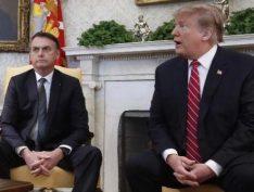 """Bolsonaro diz que Trump deu seu número pessoal a ele para """"ligar quando quiser"""""""