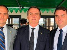 Flávio e Eduardo Bolsonaro não comandam mais o PSL no RJ e em SP