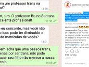 Escolinha de Salvador dá invertida em mãe de aluno que pergunta sobre professor trans