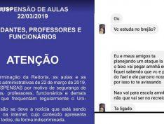 Após ameaças de ataques em redes sociais, faculdades cancelam aulas no interior de São Paulo