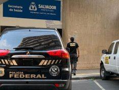PF deflagra operação contra fraudes de R$ 10 milhões na Secretaria Municipal de Saúde de Salvador