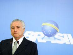 Em depoimento na PF do Rio, Temer fica em silêncio e Moreira Franco nega propina