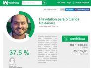 """Internauta cria """"vaquinha"""" para dar videogame a Carlos Bolsonaro: """"Assim, ele ocupa o tempo brincando"""""""