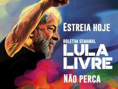 Campanha Lula Livre lança boletim semanal; assista ao primeiro programa