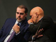 Senadores adiam protocolo de pedido de impeachment contra Toffoli e Moraes por inquérito das fake news
