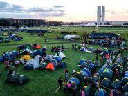 Polícia muda acampamento indígena Terra Livre de lugar para garantir que não usará violência