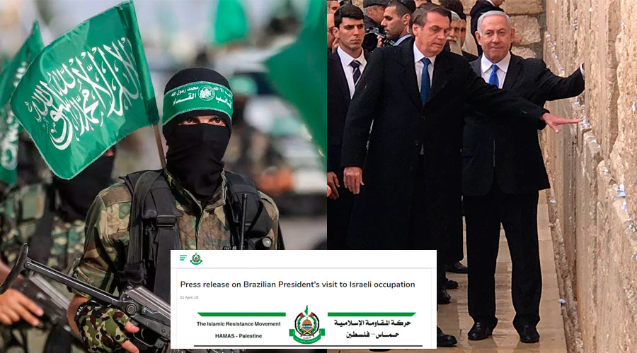 Image result for hamas bolsonaro