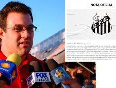"""Em nota, Santos repudia racismo após declaração de ex-diretor de que """"pardos brasileiros são mau-caráter"""""""