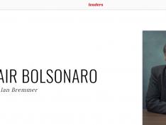 """Na lista dos 100 mais influentes da Time, Bolsonaro aparece como """"homofóbico ultraconservador"""""""