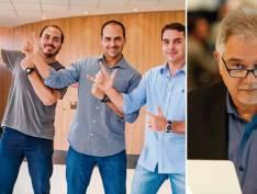 Colunista porta-voz de família Marinho culpa filhos de Bolsonaro por crise no governo