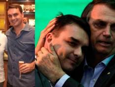 """Bolsonaro defende Flávio dizendo que """"primeiro escândalo está afastado"""": Falta ouvir o Queiroz"""