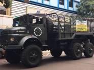 Manifestação pró-Bolsonaro usa caminhões do Exército para convocar população no Paraná