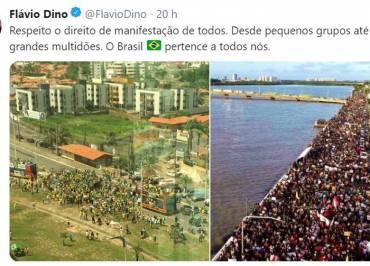 """Flávio Dino: """"os atos pioraram o que já estava ruim: a governabilidade"""""""