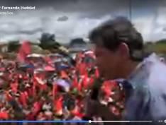 """""""O povo vai ensinar Bolsonaro a respeitar estudantes e trabalhadores"""", diz Haddad. VÍDEO"""