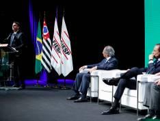 Presidente foi acompanhado de Paulo Guedes, ministro da Economia, defender a reforma da Previdência e outras medidas liberalizantes
