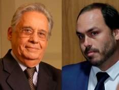 """Ao estilo Carlos Bolsonaro, FHC tuita mensagem enigmática: """"Maia brilha na escuridão celeste"""""""