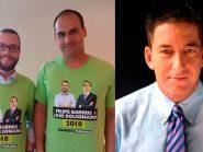 """Glenn Greenwald rebate deputado do PSL: """"Reinaldo Azevedo e BandNews são petistas?"""""""