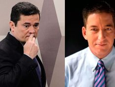 "Glenn Greenwald diz que Moro ""finge ter extrema e trágica amnésia"" sobre diálogos da Vaza Jato"