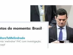 Hashtag #RatoMoroTaMelindrado bomba no Twitter