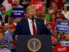Trump promete a cura do câncer e da Aids ao lançar campanha para sua reeleição