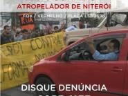 Homem que atropelou manifestantes no Rio de Janeiro é procurado