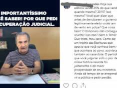 Pastor Silas Malafaia explica por que sua empresa pediu recuperação judicial