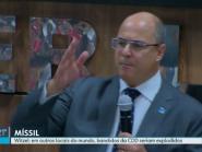 Aliado de Bolsonaro, governador do RJ lamenta não ter autorização para jogar míssil na Cidade de Deus