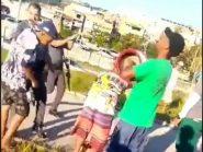 Policial militar dá tapa no rosto de garoto por causa de pipa em São Paulo. VÍDEO