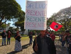 Centenas de pessoas participaram de ato de denúncia do assassinato de Luiz Ferreira, em SP