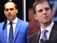 Não vai ter troca-troca: Filho de Trump não será embaixador no Brasil