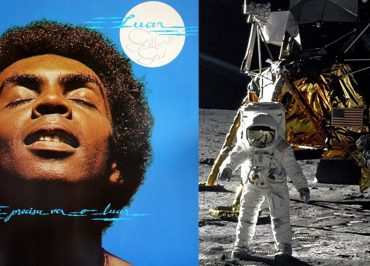 Os 50 anos da Apollo 11 e as duas luas de Gilberto Gil