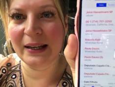 """Joice Hasselmann também diz ter tido celular clonado e pede cadeia para """"hackers"""" da Vaza Jato"""
